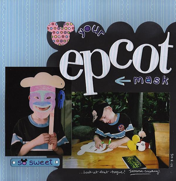 Bailey's Epcot Mask