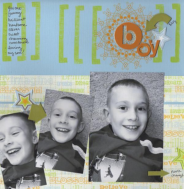 My Boy *LRS DT July 06*